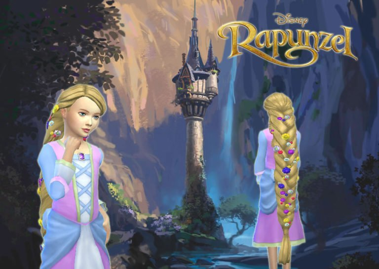 Rapunzel Braid for Girls