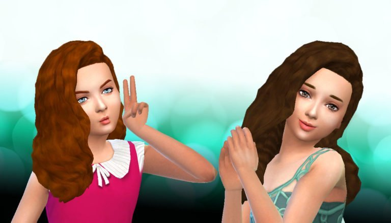 LumiaLoverSims Curly Gurly Conversion