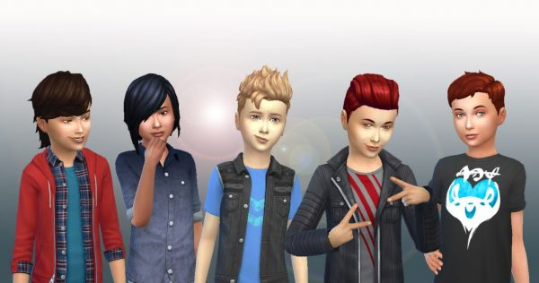 Boys Hair Pack