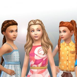 Girls Braids Hair Pack