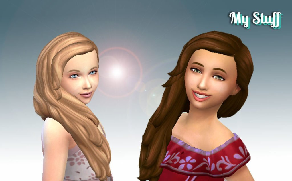 Maria Hairstyle for Girls