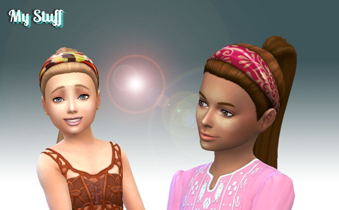 Headband Hairstyle for Girls