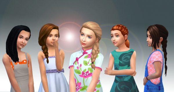 Girls Braids Hair Pack 2