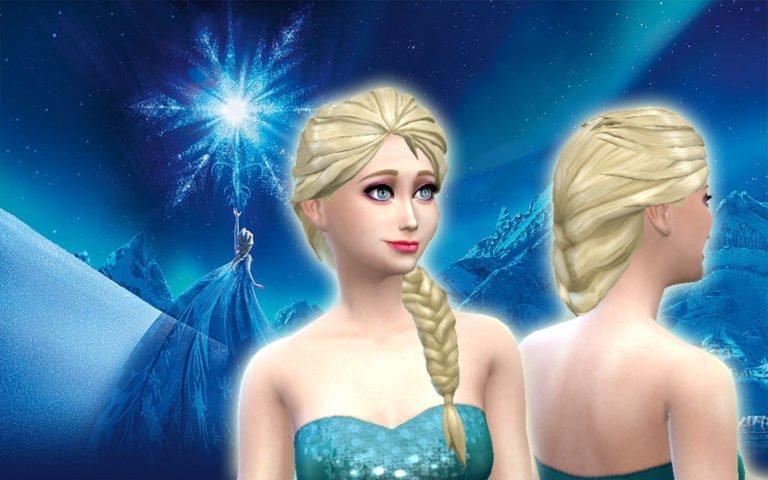 Elsa Hair 💕