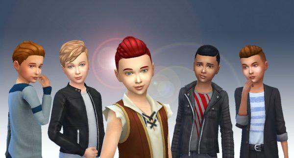 Boys Hair Pack 4