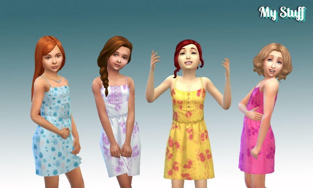 Sun Dress Buttons