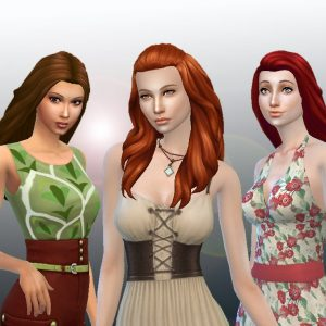 Long Hair Pack 6