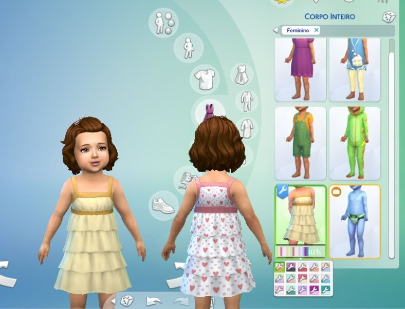Frill Dress for Toddlers