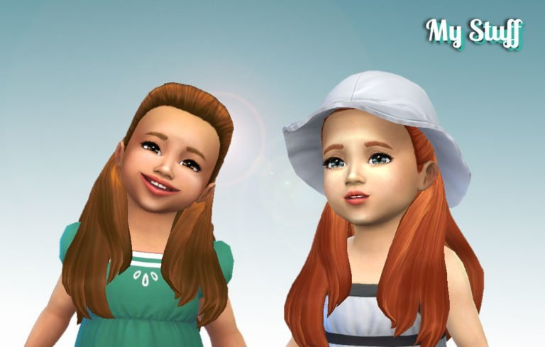 Ariana Hairstyle for Toddlers 💕