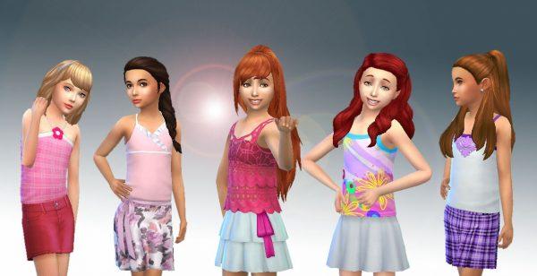 Girls Skirts Pack