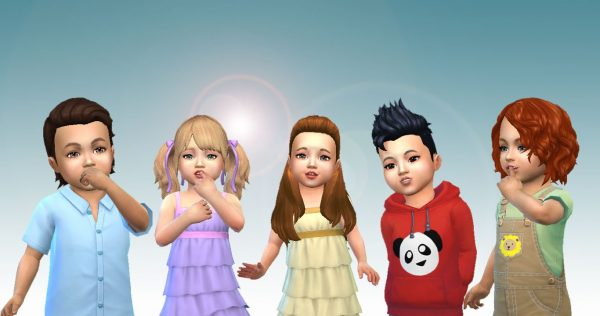 Toddlers Hair Pack 2