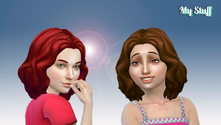 Barbara Hairstyle for Girls