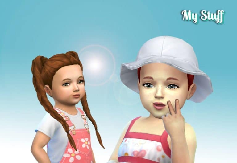 Long Braids for Toddlers