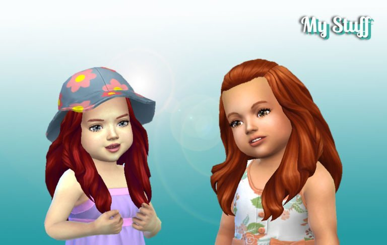 Isabella Hairstyle for Toddlers