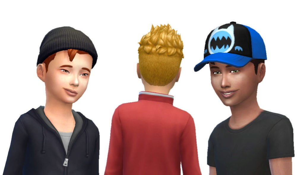 Pompadour Spiky for Boys