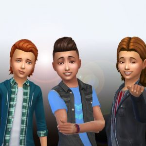 Boys Hair Pack 5