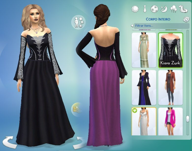 Long Witch Dress