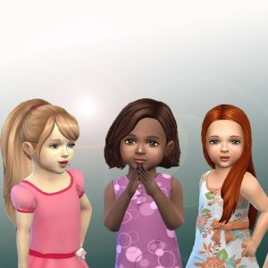 Toddlers Hair Pack 7