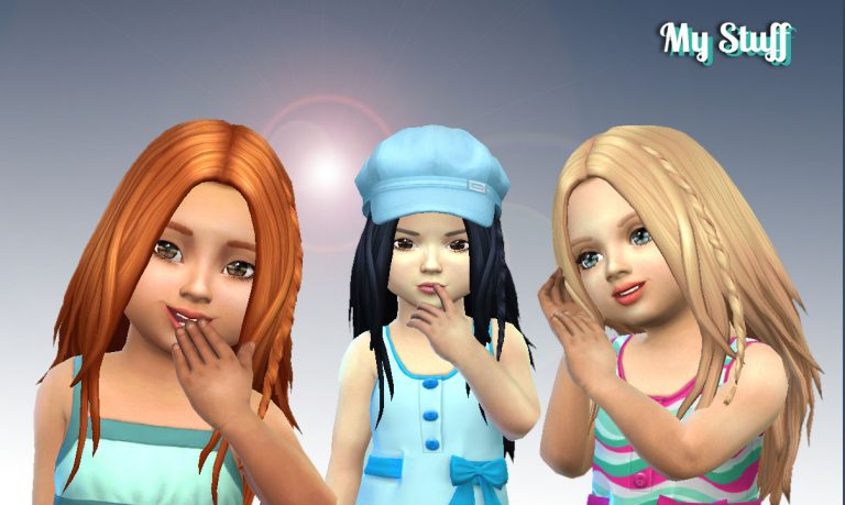 Germania Hairstyle for Toddlers