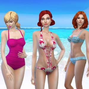 Female Swimwear Pack