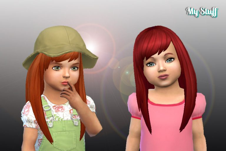 Helena Hairstyle for Toddlers