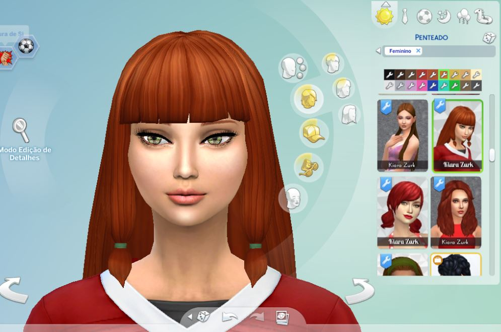 Lila Hairstyle