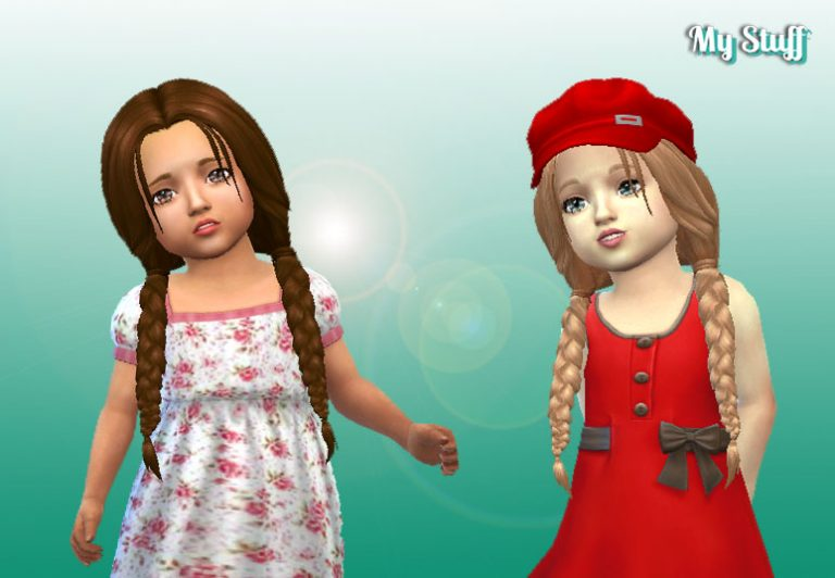 Maddison Hairstyle for Toddlers