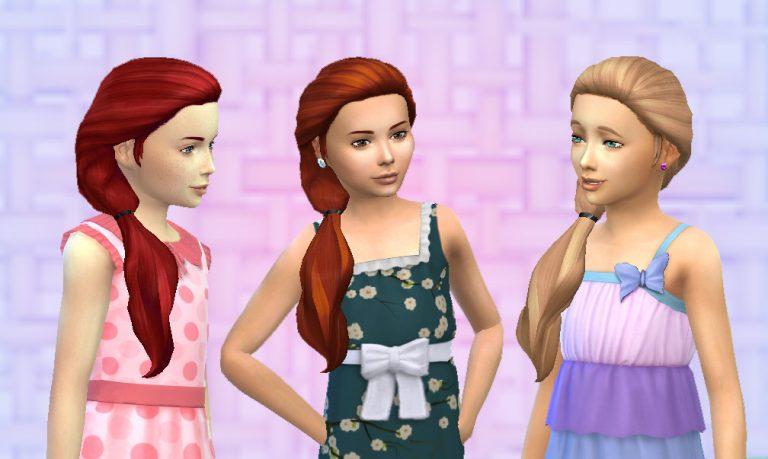 Sideways Hair for Girls