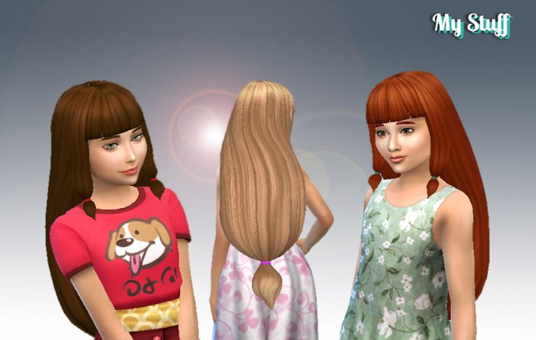 Lila Hairstyle for Girls