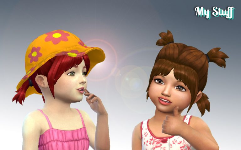 Playful Hairstyle for Toddlers