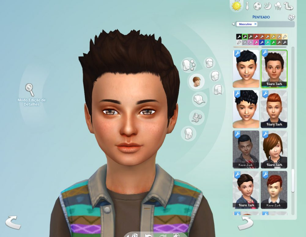 Robert Hairstyle for Boys