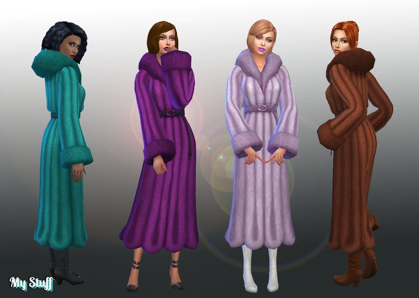 Coat Fur Trim Conversion