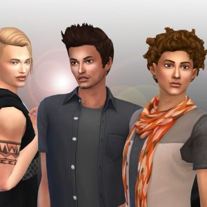 Male Hair Pack 5