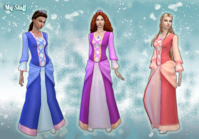 Dress Princess Conversion