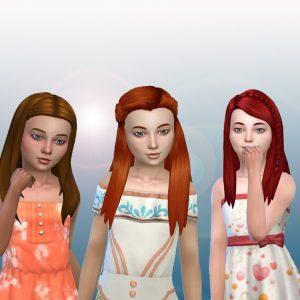Girls Long Hair Pack 12