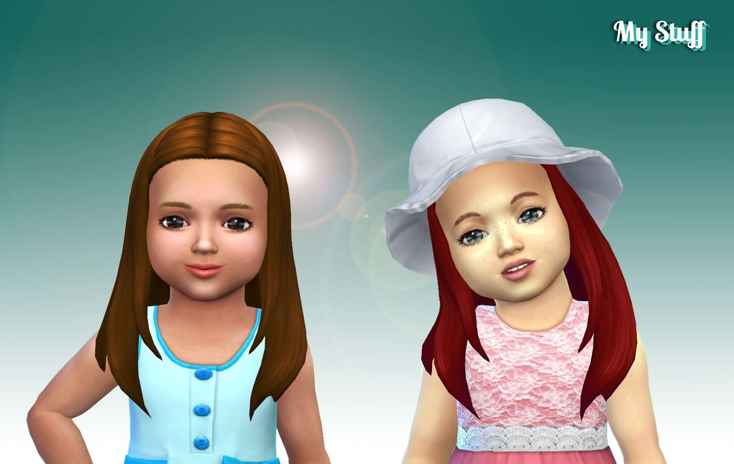 Rebecca Hairstyle for Toddlers