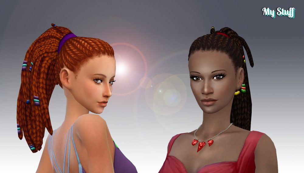 Anya Hairstyle