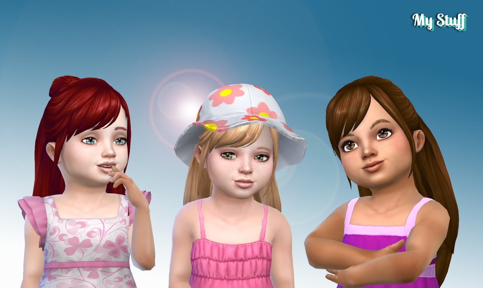 Natalie Hairstyle for Toddlers