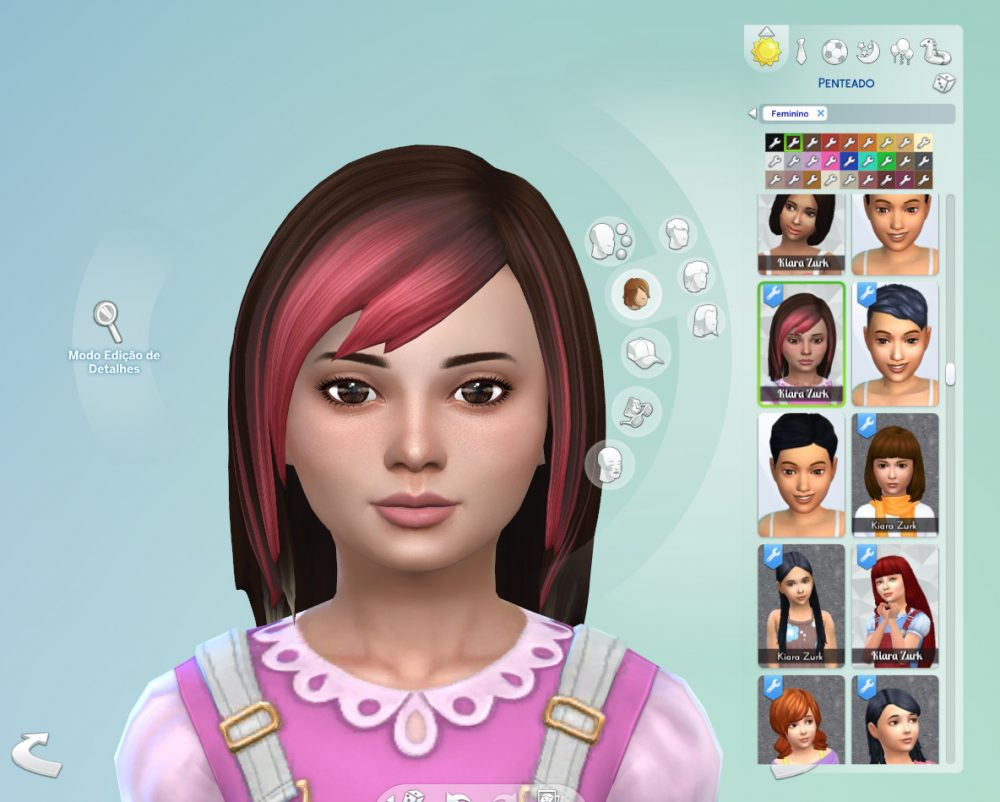 Louise Hairstyle for Kids