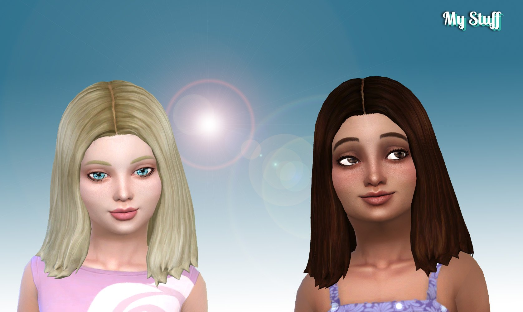 Thelma Hairstyle for Girls