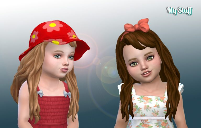 Daisy Hairstyle for Toddlers