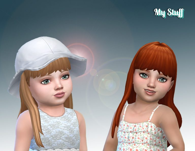 Straight With Bangs for Toddlers