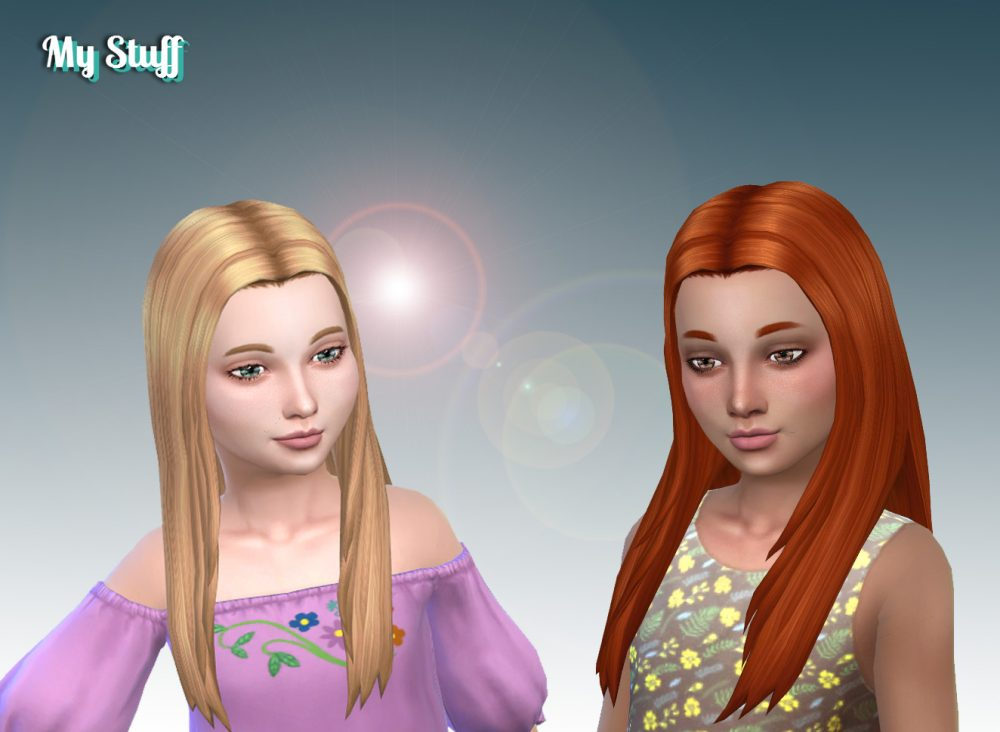 Allison Hairstyle for Girls