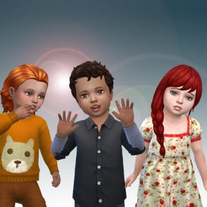 Toddlers Hair Pack 17