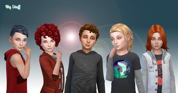 Boys Hair Pack 7
