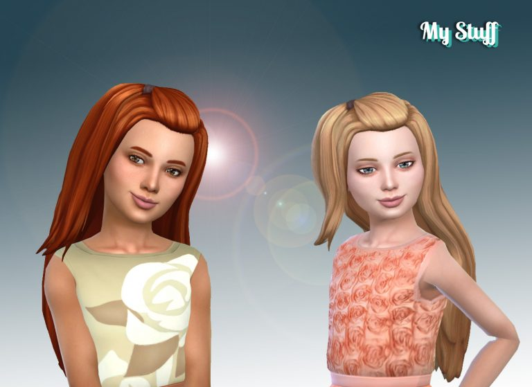 Melanie Hairstyle for Girls