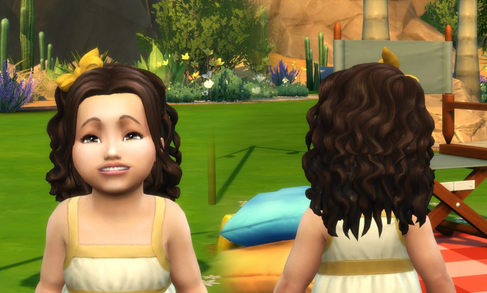 Leonora Hairstyle for Toddlers