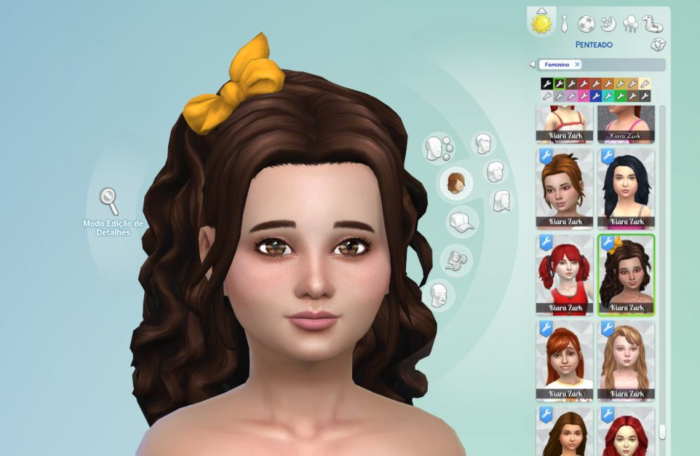 Leonora Hairstyle for Girls