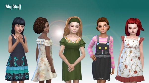 Girls Dresses Pack 3