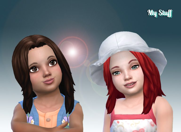 Dynamic Hairstyle Toddlers